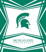 Turner Cind Michigan State Spartans Stretch Book Covers