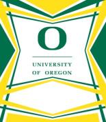 Turner Cind Oregon Ducks Stretch Book Covers