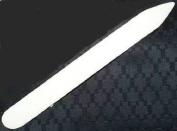 Genuine 20cm Polished Bone Folder from Brodart