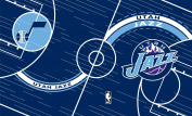 Turner NBA Utah Jazz Stretch Book Covers