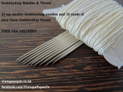 Bookbinding Needles & Bookbinding Thread