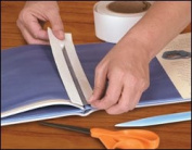 Easy Bind Book Repair Tape - 3.2cm W x 100 ft L