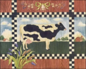 Country Cow Paper Tole 3D Kit 8x10