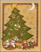 Christmas Tree Paper Tole 3D Kit 8x10