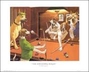 Scratching Beagle Paper Tole 3D Kit 8x10