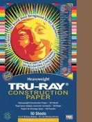 Tru-Ray Construction Paper - 30cm x 23cm - Brown