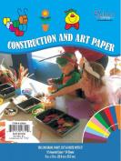 iScholar Construction Paper, 23cm x 30cm , Assorted Colours, 24 Sheets per Pack