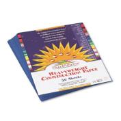SUNWORKS ALL PURPOSE CONSTRUCTION PAPER 9X12 PK50 BLUE