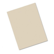 o Pacon o - Construction Paper, 76#, 25% Sulphite, 9 x 12, Lt Brown, 50 Sheets/pk