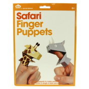 Finger Puppets - Safari - 1 Pack