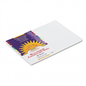 SunWorks : SunWorks Construction Paper, Heavyweight, 12 x 18, White, 50 Sheets -:- Sold as 1 PK