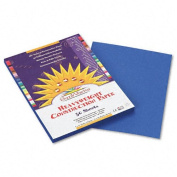 SunWorks : SunWorks Construction Paper, Heavy, 9 x 12, Bright Blue, 50 Sheets -:- Sold as 2 Packs of - 50 - / - Total of 100 Each