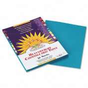SunWorks : SunWorks Construction Paper, Heavyweight, 9 x 12, Turquoise, 50 Sheets -:- Sold as 2 Packs of - 50 - / - Total of 100 Each
