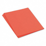 o Pacon o - SunWorks Construction Paper, Heavyweight, 18 x 24, Orange, 50 Sheets/pk