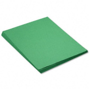 SunWorks : SunWorks Construction Paper, Heavy, 18 x 24, Holiday Green, 50 Sheets -:- Sold as 1 PK