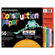 Neenah Paper Astrobrights Construction Paper, 72-lb., 12 x 18, Assorted, 50 Sheets/Pack