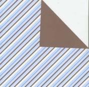Making Memories 12x12 Cosmopolitan Paper-Bias Cut Blue