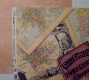 Tim Holtz 23cm X 23cm Cardstock - Traveller
