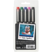 Zig 2mm Tip Photo Signature Markers, Assorted Colour