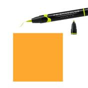 Prismacolor Premier Double-Ended Brush Tip Markers mineral orange 154