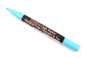 Marvy Uchida Bistro Chalk Markers fluorescent light blue fine point