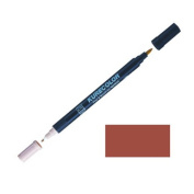 Zig Kurecolor Manga Cartoonist Fine & Brush Dual-Tip Marker Burnt Sienna