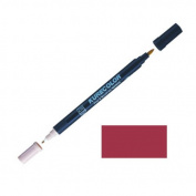 Zig Kurecolor Manga Cartoonist Fine & Brush Dual-Tip Marker Deep Red
