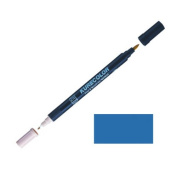 Zig Kurecolor Manga Cartoonist Fine & Brush Dual-Tip Marker Dull Blue