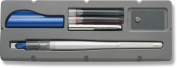 Pilot Parallel Pen 2-Colour Calligraphy Pen Set, with Red and Blue Ink Cartridges, 6.0mm Nib