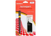 Isomar Technoart Pen + Ink 0.30mm - Black