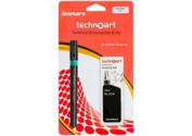 Isomar Technoart Pen + Ink 1.10mm - Black