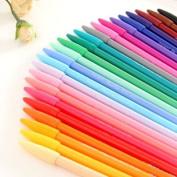 Monami Plus 3000 Office Sign Pen Water Based Ink 24 Colour Pen Complete Set!