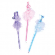 (1 dz) Musical Note Feather Pen Assortment