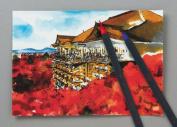 Akashiya Sai Watercolour Brush Pen - 20 Colour Set