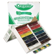 Wholesale CASE of 5. 462-Piece Class Pack Coloured Pencils. Coloured Pencil Class Pack, 462/BX, 14-Ast