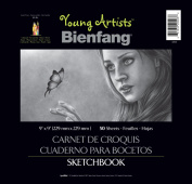Bienfang Young Artists Sketchbook, 50 sheets, 23cm by 23cm