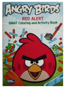 "Angry Birds 96 Page Colouring & Activity Book ""Red Alert"""