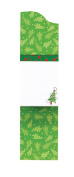 CR Gibson Christmas Magnetic Mini Notes, Lights - 75 Sheet Pad