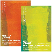 Fluid Easy Block Fluid Watercolour Blocks 10cm . x 15cm . block