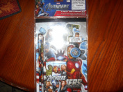 MARVEL THE AVENGERS 6 PIECE SKETCHBOOK SET