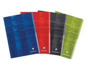 Clairefontaine Classic Staple Bound Ruled Notebook 8.25 x 11.75 colours may vary