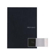 Ecoqua Dot Notebook 5.8X8.25 Black