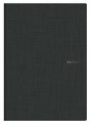 Ecoqua Grid Notebook 8.25X11.7 Black