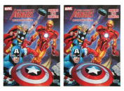 "Marvel Mighty Avengers (2 Pack) 96 pg Colouring & Activity Book ""Saving The World"""