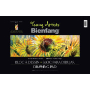 Bienfang Young Artists Drawing Book, 50 sheets, 30cm by 46cm