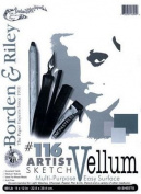 Sketch Vellum 9x12 40 Sht Pad