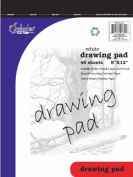iScholar Drawing Tablet, 40 Sheets, 23cm x 30cm , White