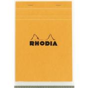 Rhodia Notepads Graph Orange 8-1/4X11-3/4