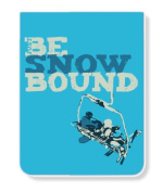Just Be PK-14338-SBD Just Be Snowbound Lined Pocket Pad/Notebook