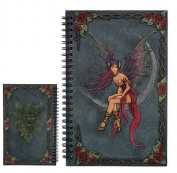 """Dragon Winged Fairy"" Journal / Notebook / Sketchbook"